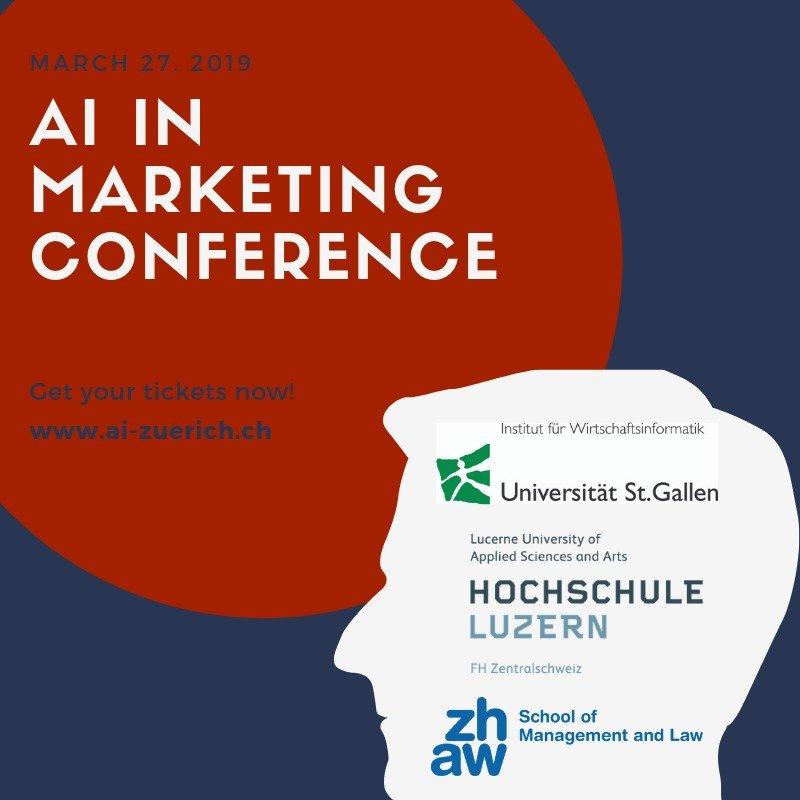 AI Marketing in Zurich Konferenz