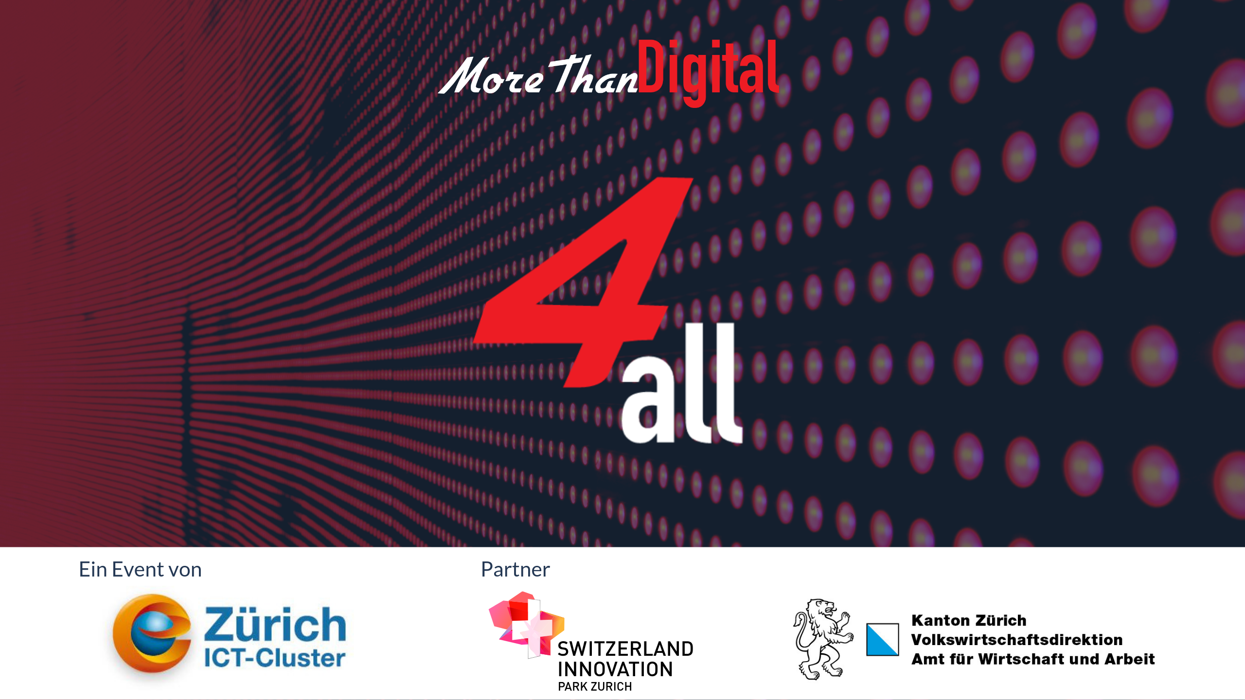 eZürich und MoreThanDigital 4all Pilotevent 6
