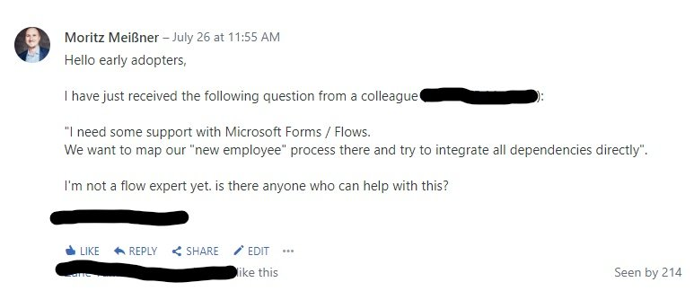 Employee networks and Office 365 2