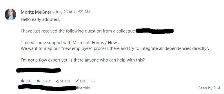 Mitarbeiternetzwerke und Office 365 2