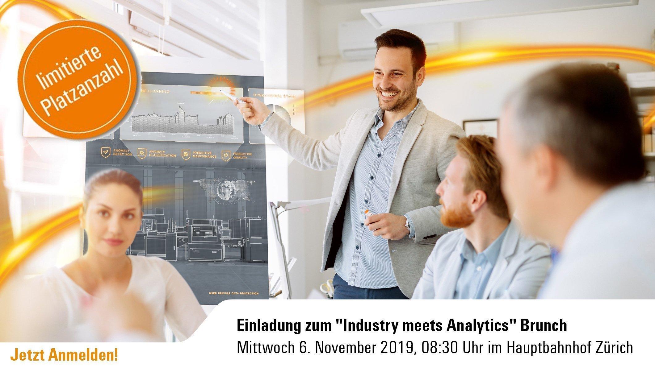 """Zürich - """"Industry meets Analytics"""" Brunch 6"""