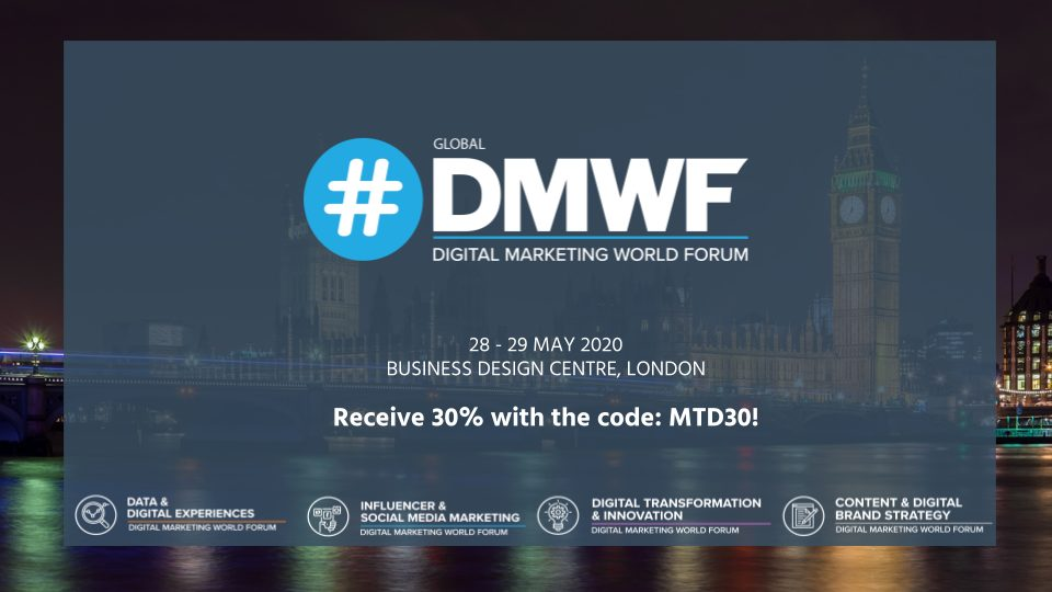 London - Digital Marketing World Forum 6
