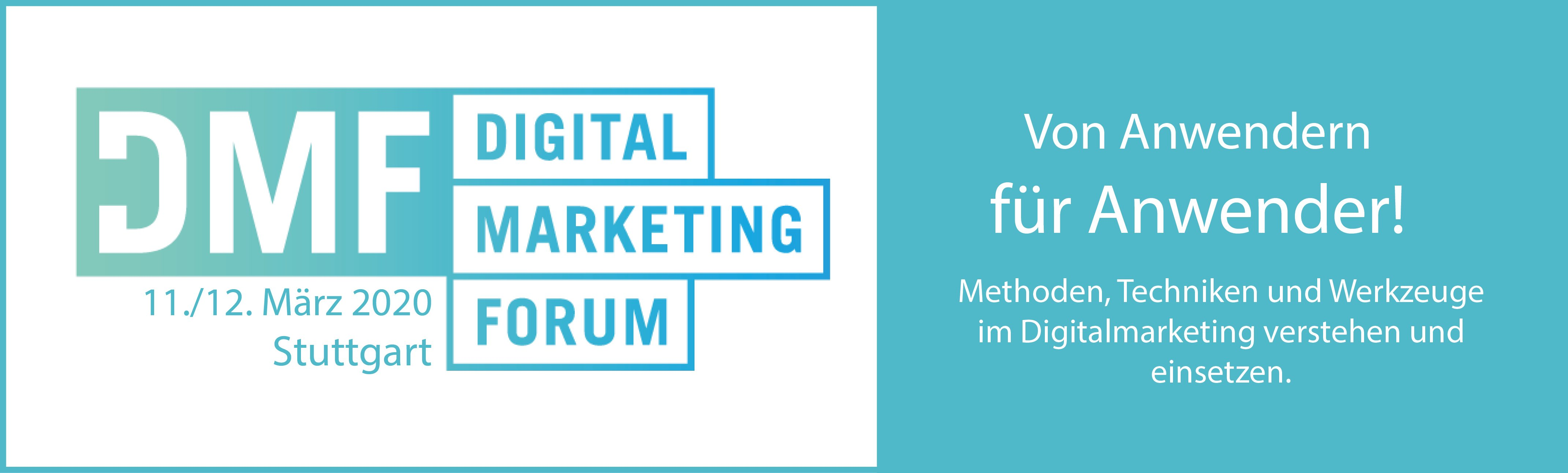 Stuttgart - Digital Marketing Forum 2020 (DMF) 12