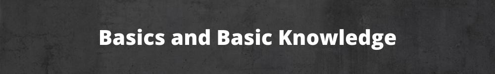 Basics & Basic Knowledge around home office, remote work, new business etc.
