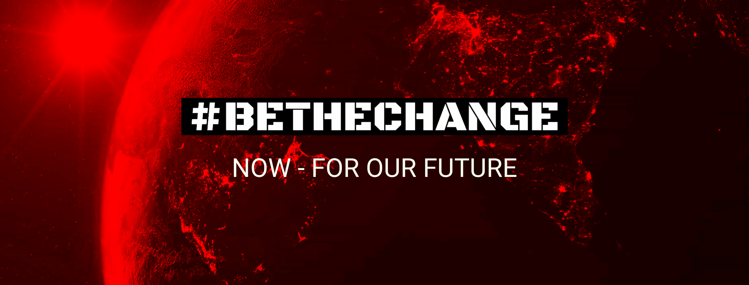 #bethechange 1