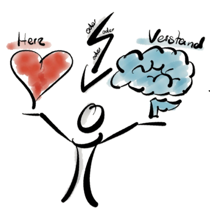 Herz oder Verstand Entscheidungen
