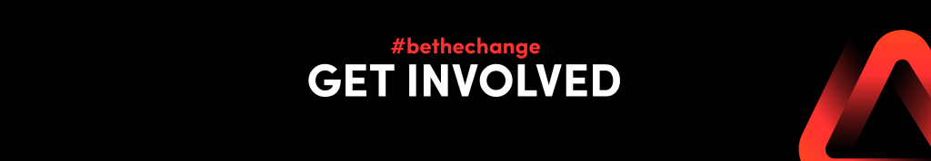 #bethechange get involved