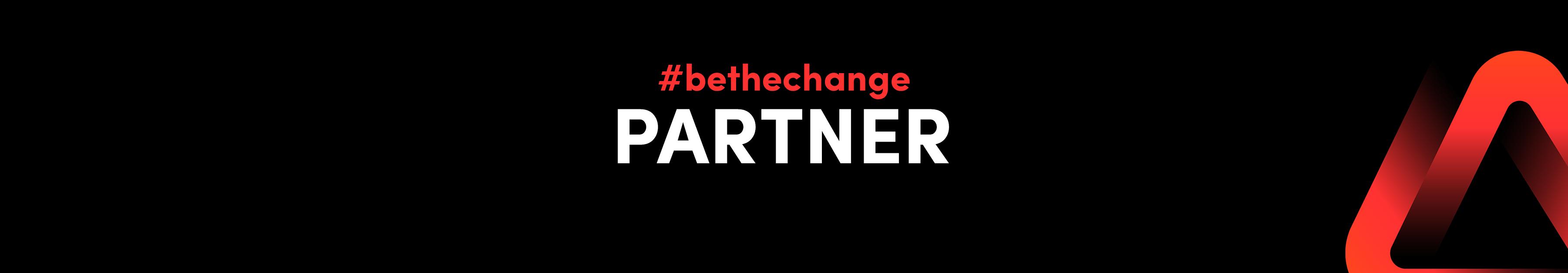 #bethechange Partner werden 1