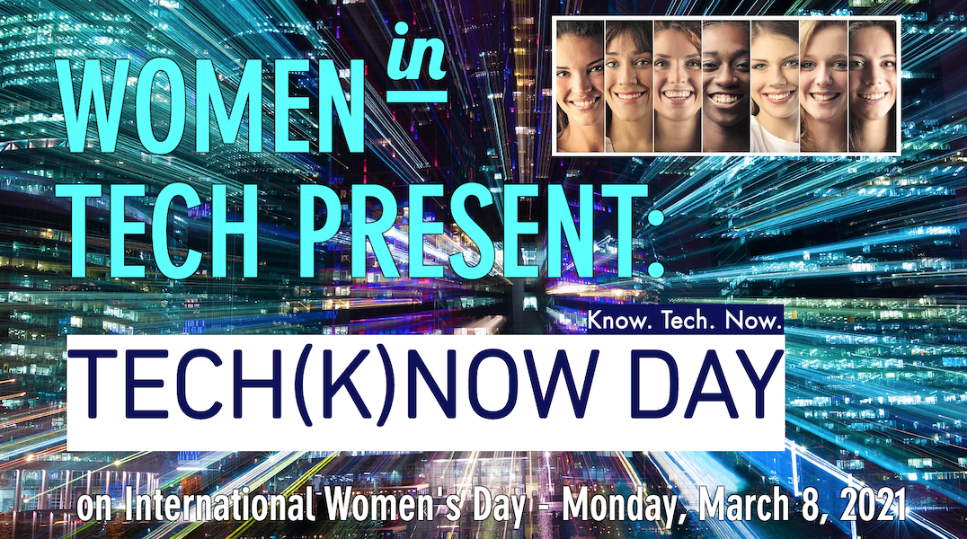 TECH(K)NOW Day on International Women's Day 6